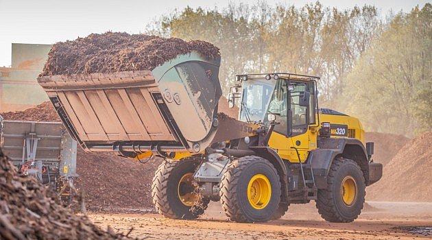 Les Chargeuses sur pneus Komatsu: de 1 a 35 m³ de capacité en 55 ans.