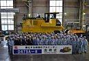 Komatsu D475-8 : un bouteur de 112,6 tonnes en Europe