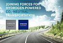 Le Groupe Volvo et Daimler en coentreprise pour la production à grande échelle de piles à combustible pour camions à hydrogène