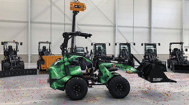 Tobroco-Giant assemble sa 25.000e machine