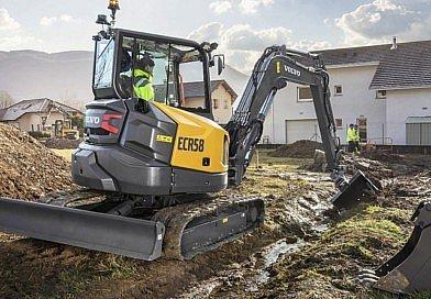Volvo lance sa nouvelle pelle compacte ECR58F