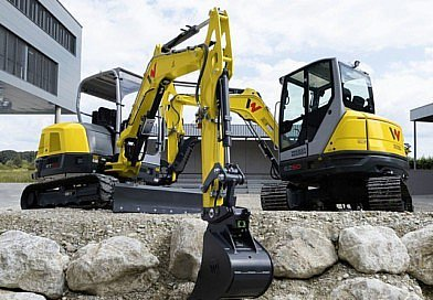 Deux nouvelles excavatrices chez Wacker Neuson