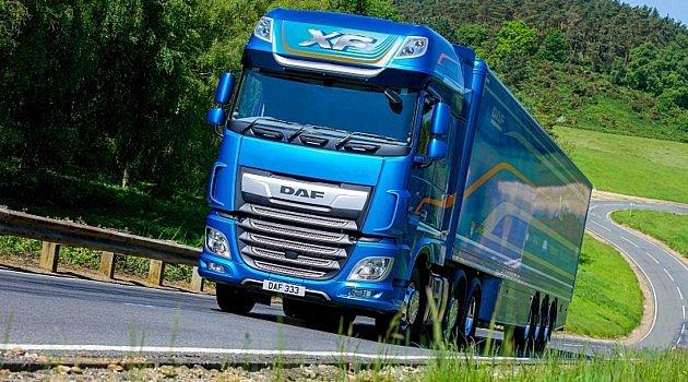 Le DAFXF élu «Fleet Truck of the Year2020» (Camion de flotte de l'année2020)