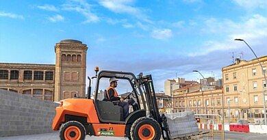 AUSA a lancé son nouveau chariot élévateur urbain C201H