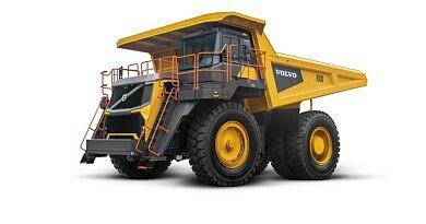 Volvo CE lance sur le marché international un tombereau rigide 95 tonnes